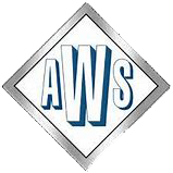 AWS Logo with white in center